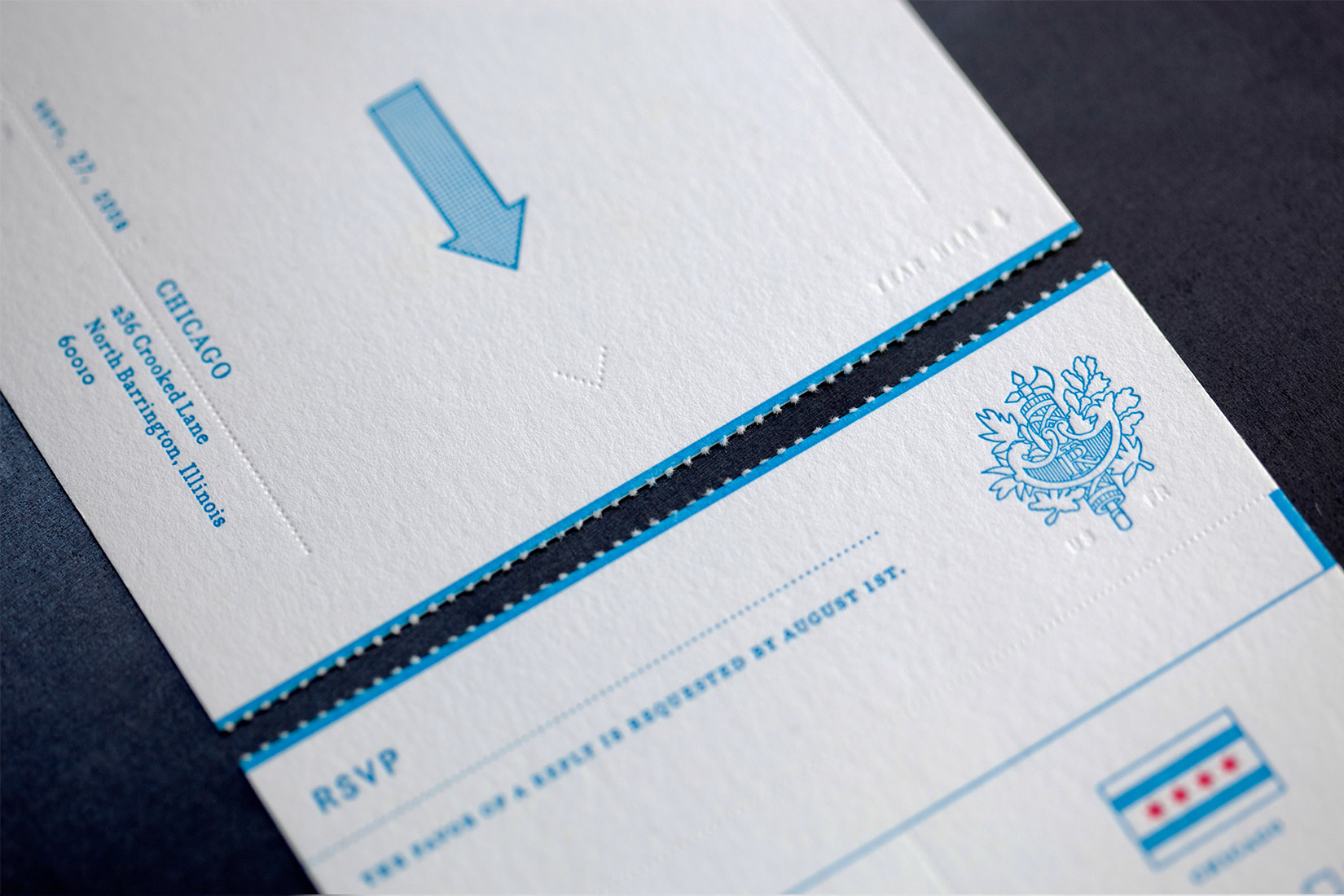 Two Weddings One Invitation MM Branding Strategic Design Firm